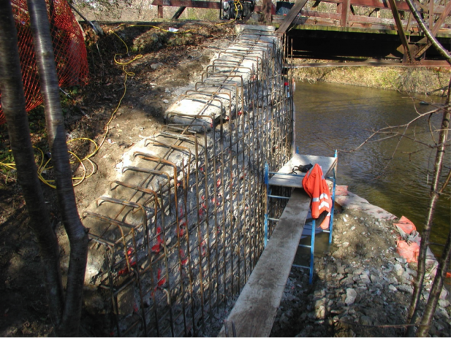 Bridge work done by DiGregorio