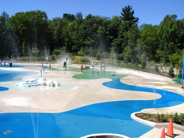 Completed Toronto Zoo Splash Pad