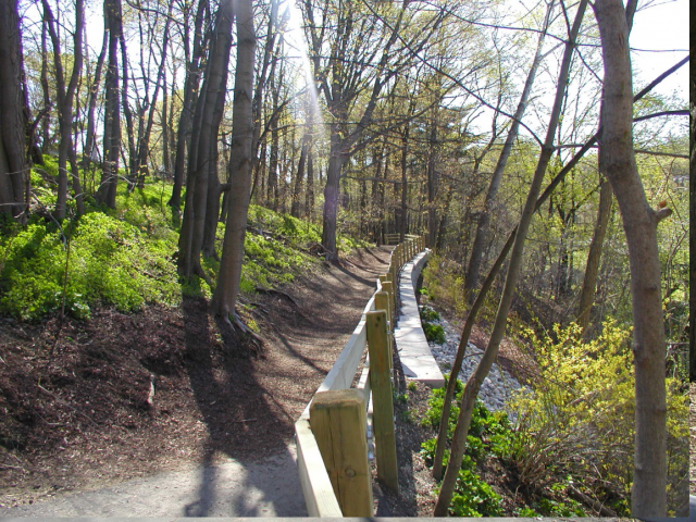 Construction of Walking trail