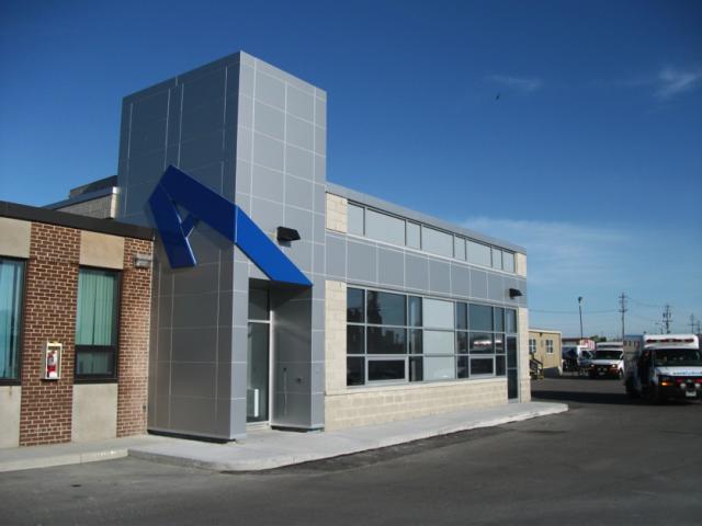 Dig Con built EMS Station