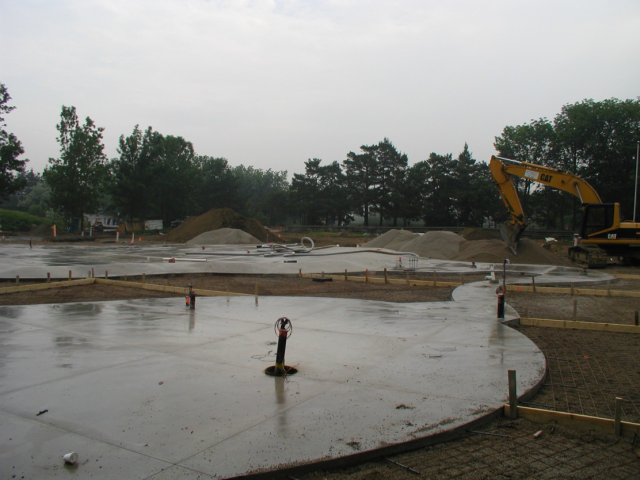 Work at Toronto Zoo Splash Pad completed by Dig-Con
