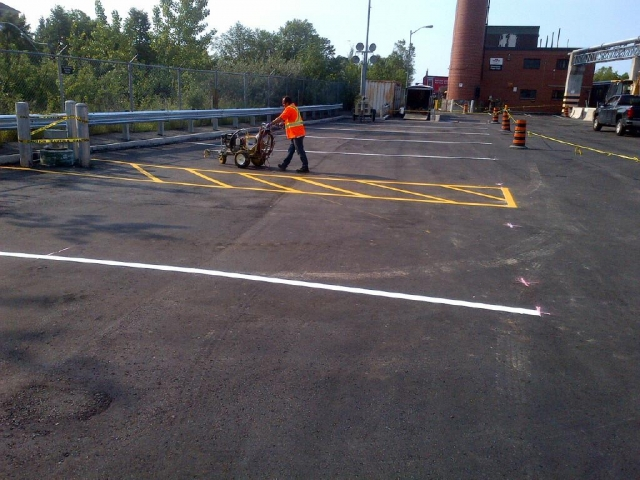 TTC parking lot by International Paving